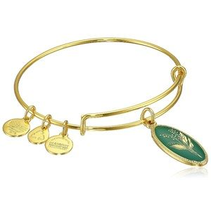 Alex and Ani Lily of the Valley Bangle